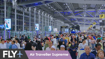 Plan B Media l Fly l Air Traveller Supreme